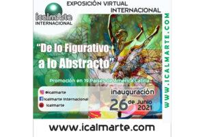 """Exposición Virtual Internacional """"De lo Figurativo a lo Abstracto"""""""