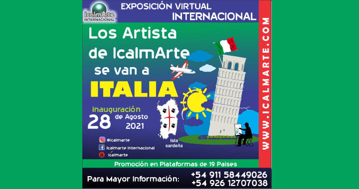 Los Artistas de Icalmarte se van a Italia